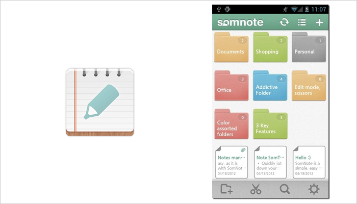 SomNote - Note taking app