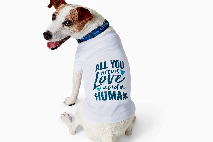 mothers day gift ideas dog quote tee