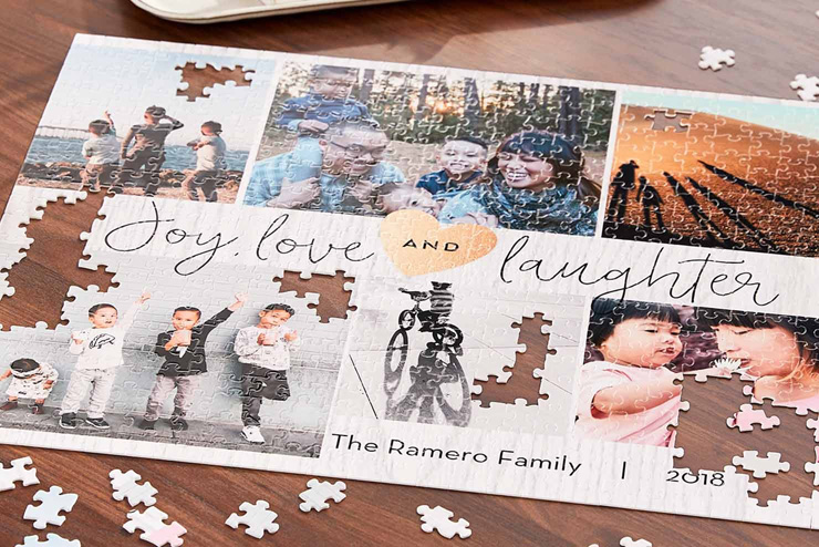 mothers day gift ideas family puzzle