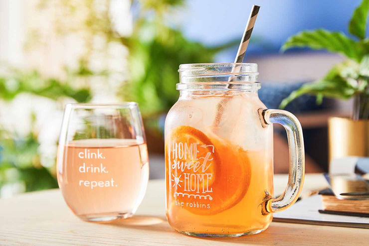 mothers day gift ideas summer drinks mason jar