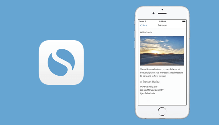 Best SimpleNote note taking app for iPhone