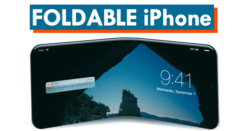 wow apple to launch its first foldable iphone